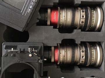 Rent: Angenieux EZ-1 T2.0 30-90mm & EZ-2 15-40 Zooms + Matte Box