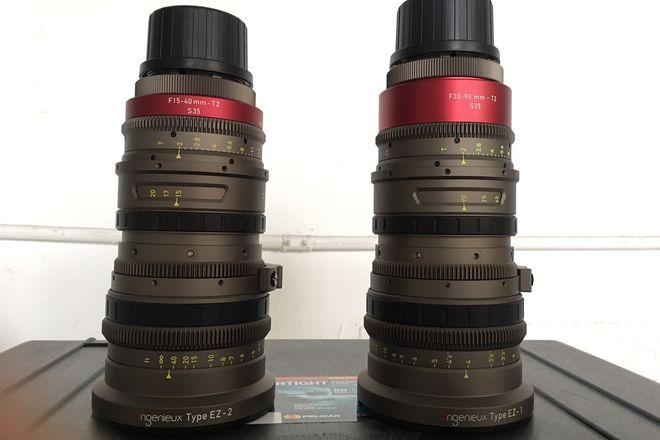 Angenieux EZ-1 30-90mm T2 & EZ-2 15-40 T2 Zooms