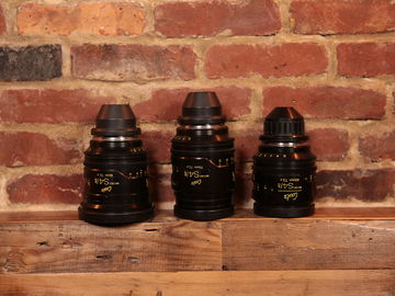 Cooke Mini S4 - Set of (3) PL Lenses: Coated or Uncoated