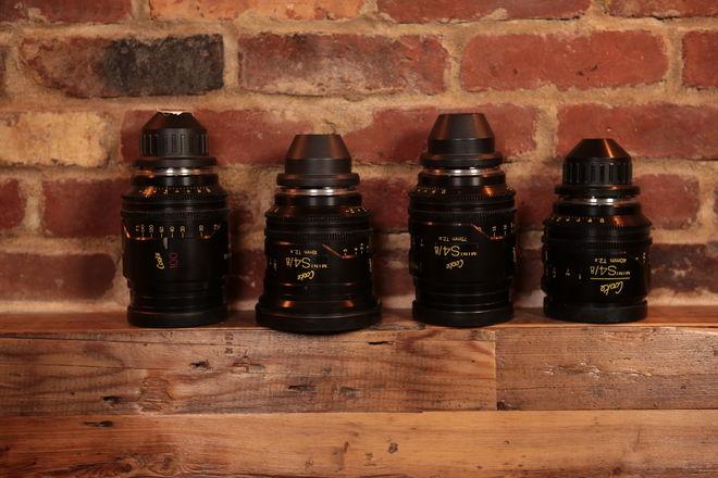 MINT! Cooke Mini S4/i PL Lenses: Set of 4 Coated or Uncoated