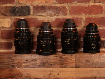 Cooke Mini S4 PL Lenses: Set of 4