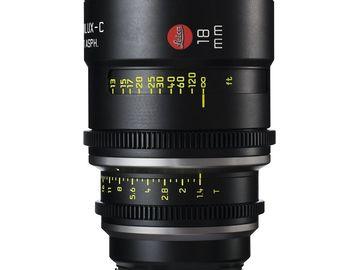 Rent: Leica Summilux-C 18mm T1.4 Lens
