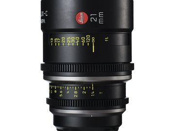 Rent: Leica Summilux-C 21mm T1.4 Lens