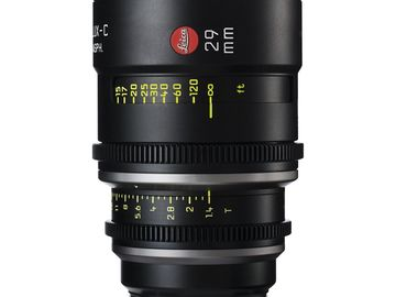 Rent: Leica Summilux-C 29mm T1.4 Lens