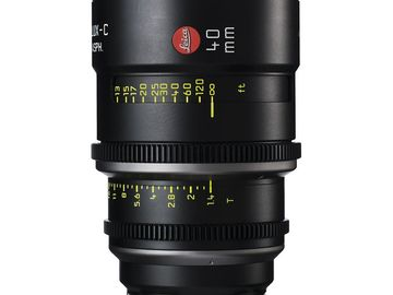 Rent: Leica Summilux-C 40mm T1.4 Lens