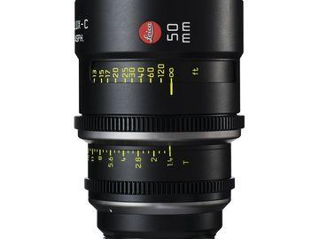 Rent: Leica Summilux-C 50mm T1.4 Lens