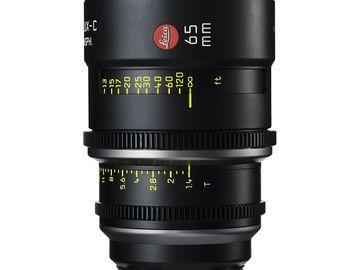 Rent: Leica Summilux-C 65mm T1.4 Lens