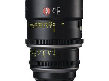 Rent: Leica Summilux-C 75mm T1.4 Lens