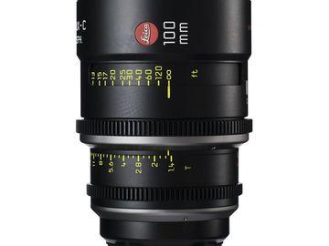 Rent: Leica Summilux-C 100mm T1.4 Lens
