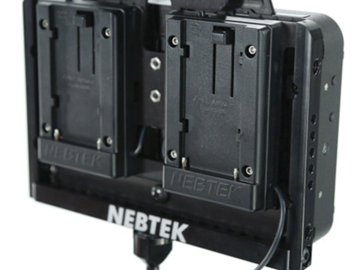 Rent: Nebtek Odyssey7 Power Cage for Dual Canon BP900 Batteries