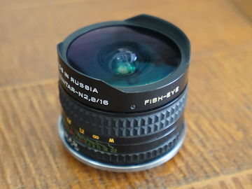 Rent: Fish-Eye Lens 16mm f/2.8