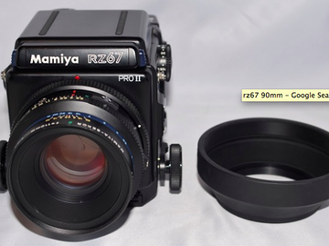 Rent: Mamiya RZ67 with 90mm lens