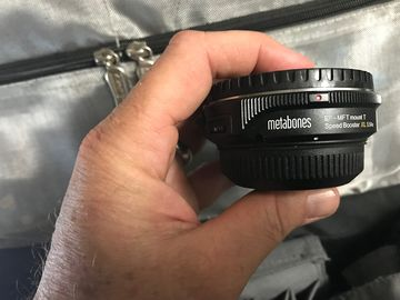 Rent: Metabones XL Canon EF to Micro Four Thirds