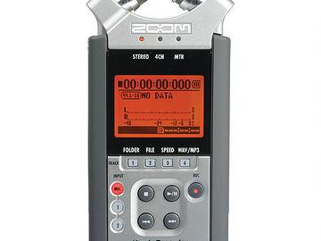 Rent: ZOOM H4N Handy 4-Track Digital Audio Recorder