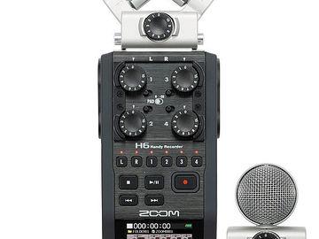 Rent: ZOOM H6 Handy Digital Audio Recorder