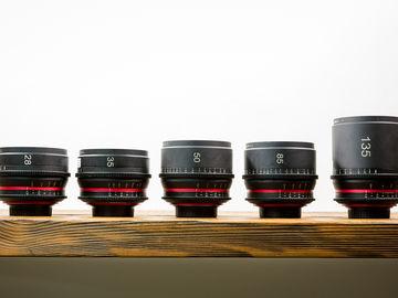 Rent: GLO Zeiss Super Speed Contax MMJ EF Cinema Primes (set of 5)