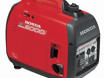 Rent: HONDA 2000w Generator (16 amps)