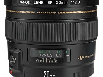 Rent: Canon EF 20mm f/2.8