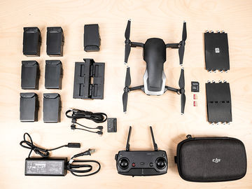 Rent: DJI Mavic Air  - Drone Full Kit