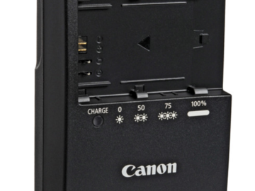 Rent: Canon LC-E6 Charger for LP-E6 Battery