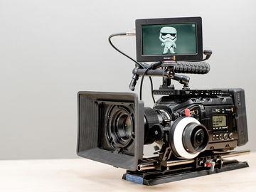 Rent: Blackmagic URSA Mini Pro  - Production Ready Kit