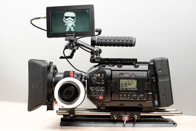 Blackmagic URSA Mini Pro  - Production Ready Kit