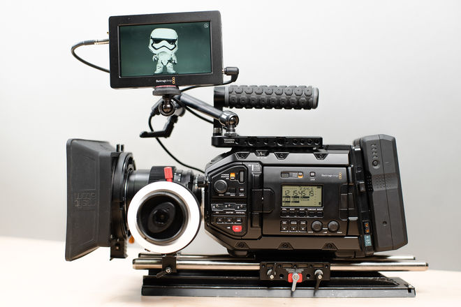 Blackmagic URSA Mini Pro  - Production Ready Kit
