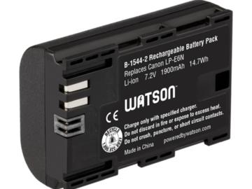 Rent: Watson Watson LP-E6N Replacement Battery