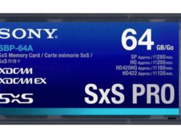 Rent: Sony 64GB SxS Pro Card