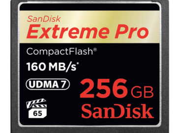 Rent: SanDisk 256GB CF Card