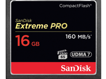 Rent: SanDisk 16GB CF Card