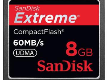 Rent: SanDisk 8GB CF Card