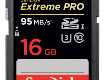 Rent: SanDisk 16GB SDHC Card