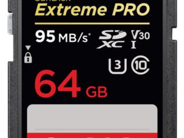 Rent: SanDisk 64GB SDXC Card