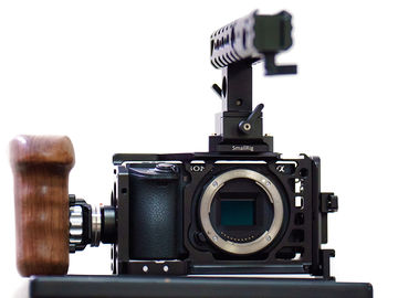 Rent: Filmmaker's Sony a6500 Camera Kit, Cage & Handle