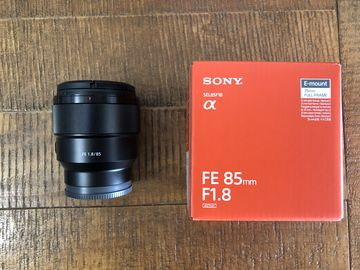Rent: Sony FE 85mm F1.8 E-Mount Lens