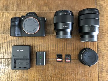 Rent: Sony A7 III Kit w/ Sony AF Lenses