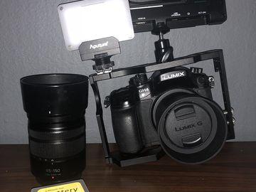 Rent: Panasonic Lumix DMC-GH4 Digital Camera
