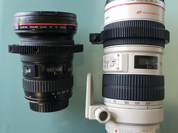 Rent: Canon Zooms bundle 16-35mm I / 70-20mm IS f/2.8