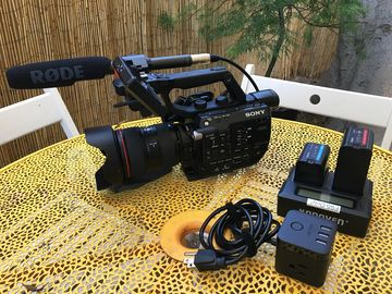 Rent: Sony FS-5 With Canon 24-70mm L & Metabones Ultra