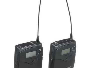 Rent: SENNHEISER EW-100ENG-G3A Lav/ Plug-In System