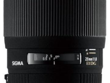 Rent: Sigma Wide Angle 28mm f/1.8 EX Aspherical DG DF Macro Lens