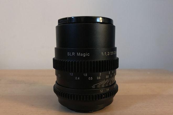 SLR SLR Magic Cine 35mm/1.2SLR Magic Cine 35mm/1.2