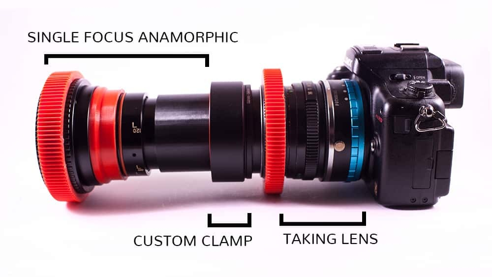 Rent a 85mm Isco 2x Anamorphic Lens w/ Wide Angle, single focus