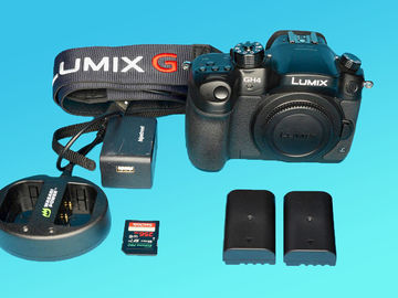 Rent: Panasonic Lumix DMC-GH4 w/ 256GB SDXC, 2 Batteries G
