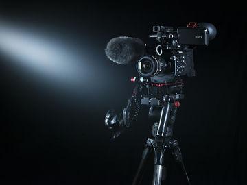 Rent: Sony FS7 package, tripod, microphone, media