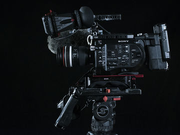 Rent: Sony FS7 package, tripod, lenses, microphone, media