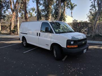 Rent: 1 Ton Van Grip Package (Millennium Vancon)
