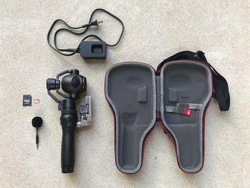 Rent: DJI Osmo+ Handheld Gimbal w/ 4K Zoom Camera & 64GB SD card