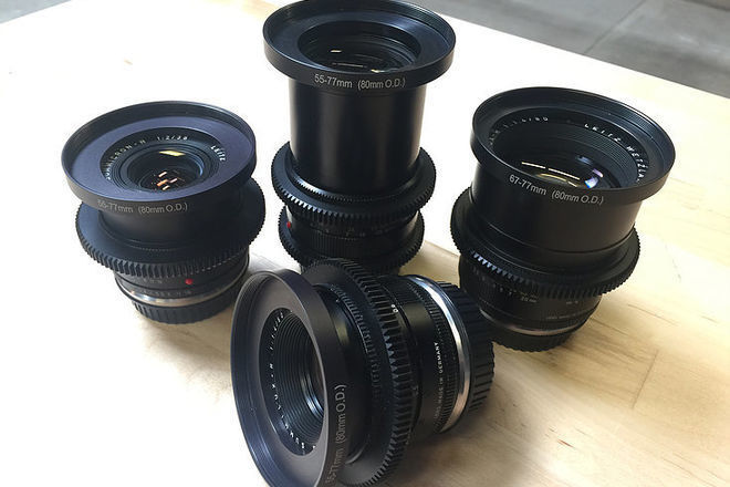 LEICA-R 80mm f/1.4 EF Prime Lens